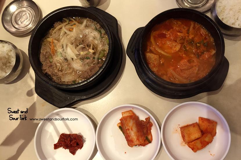 Bulgogi Stew/Kimchi Stew