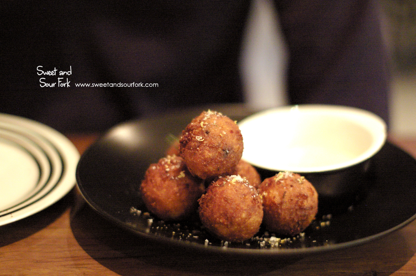 Cauliflower and Cheese Balls ($9.5)