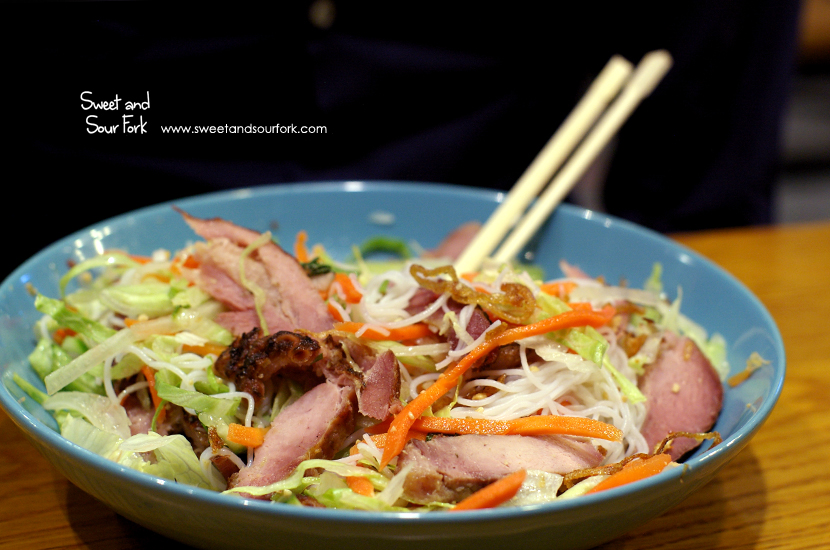 Grilled Pork Vermicelli Bowl ($12)