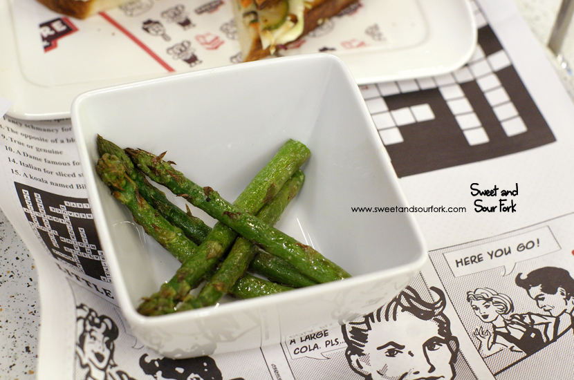 Grilled Asparagus Spears ($4.5)