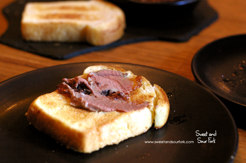 Chicken Liver Parfait, Madeira Jelly ($16)