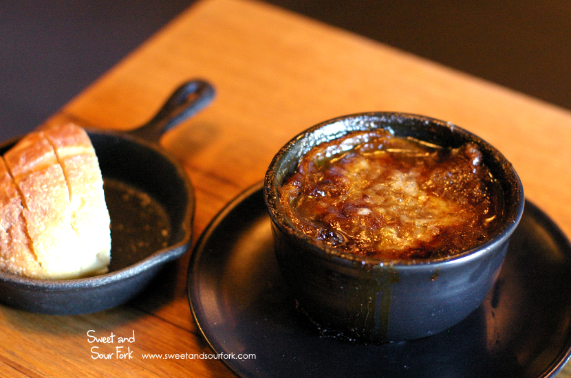 French Onion Soup à la Normandie ($14)