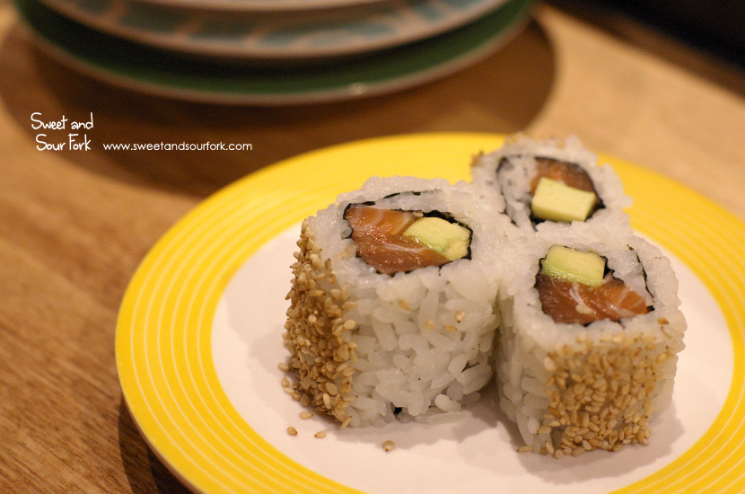 Teriyaki Salmon Roll ($3.8)