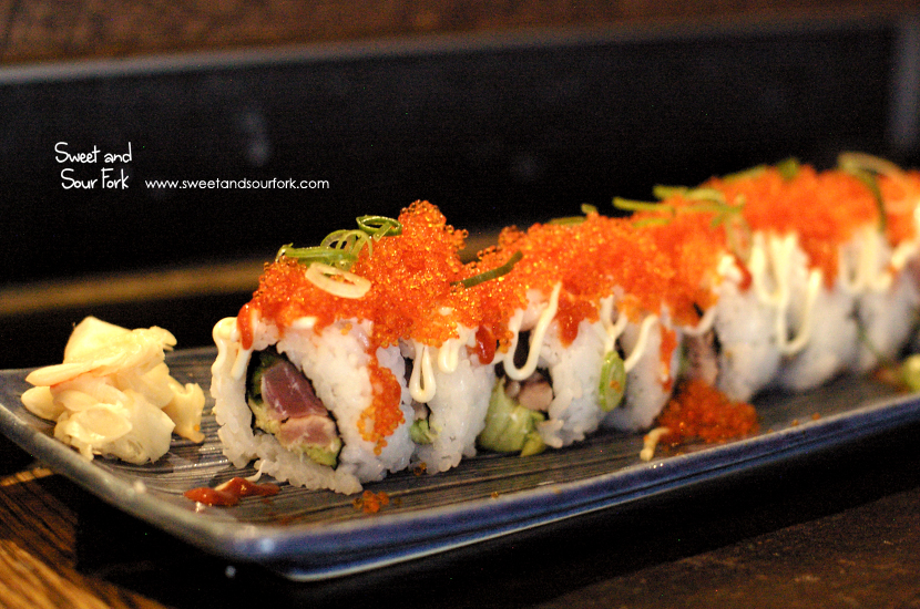 Dragon Roll ($20, 8pcs)
