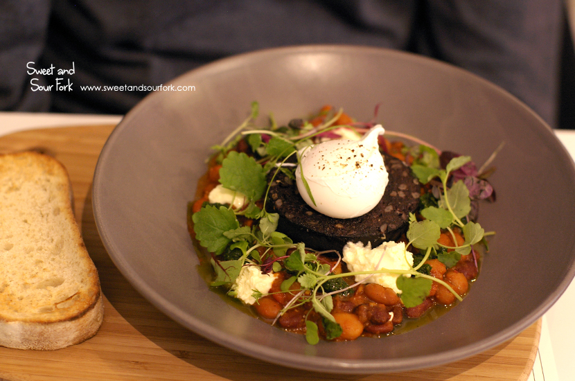 Rob's Black Pudding ($19)