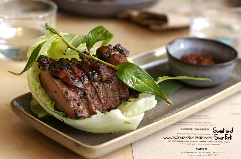 Chargrilled Pork Neck