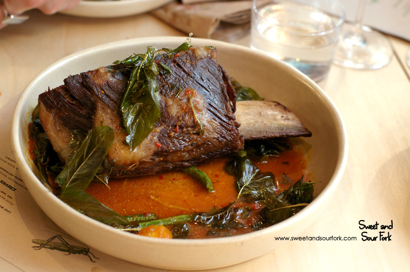 Chargrilled Cape Grim Short Rib ($55)