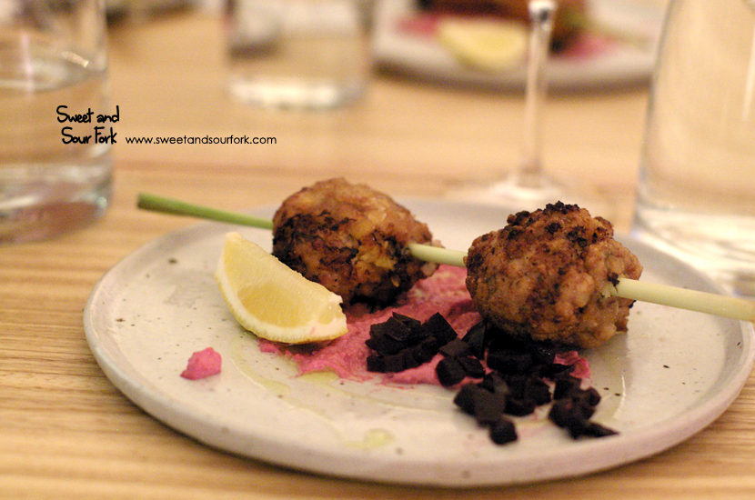 Chicken and Apricot Kofta ($18.5)