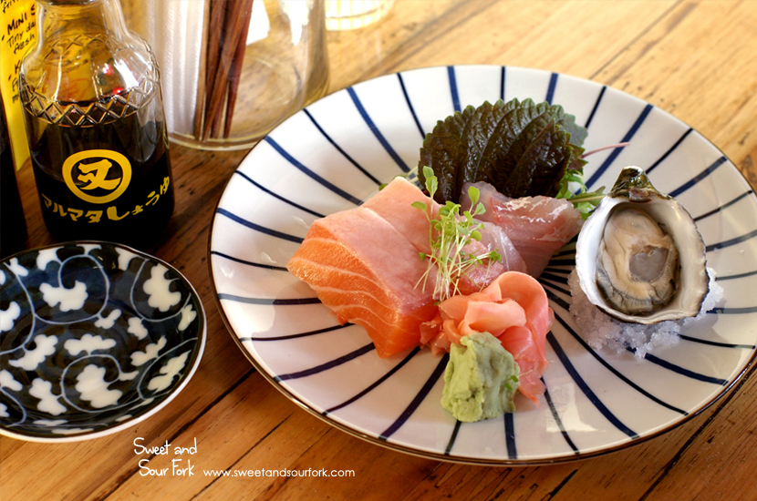 Mini Sashimi ($12)