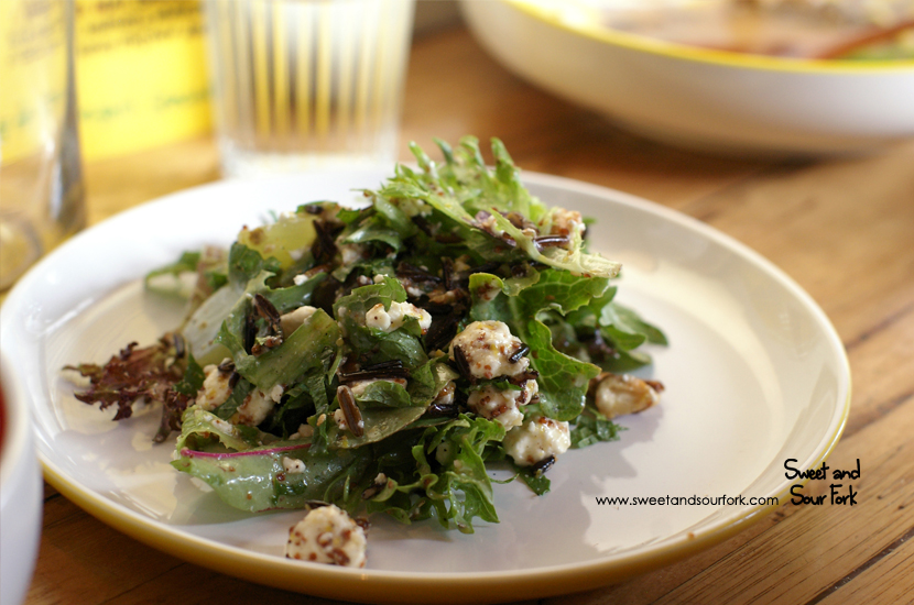 Yasei Mai Salad ($9)