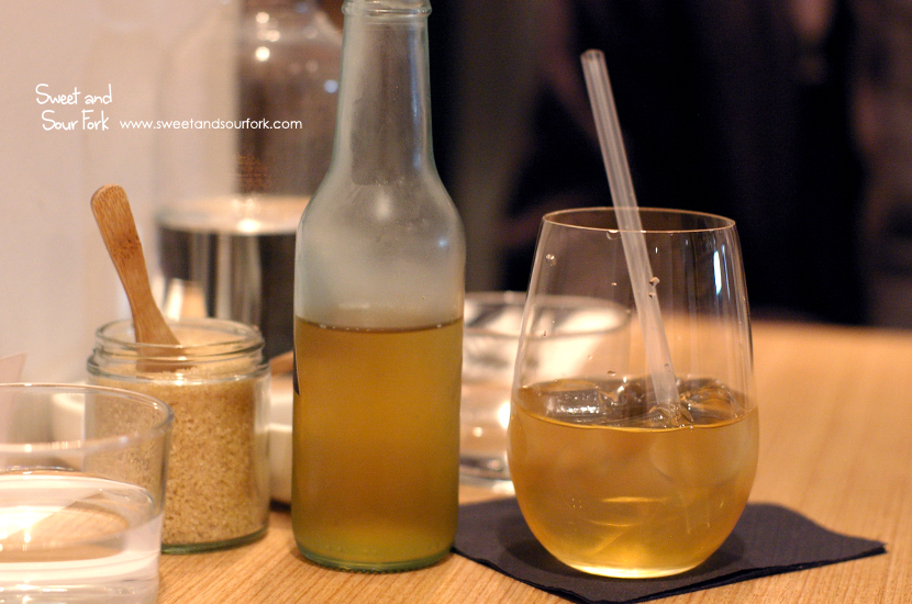 Cold Drip Herbal Iced Tea ($5)