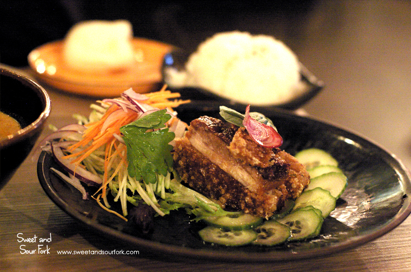 Spicy Crispy Pork Belly with Apple Slaw ($20)