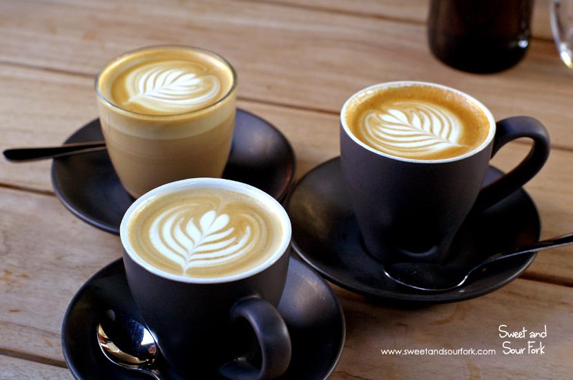 Flat White ($3.7)/Latte ($3.7)