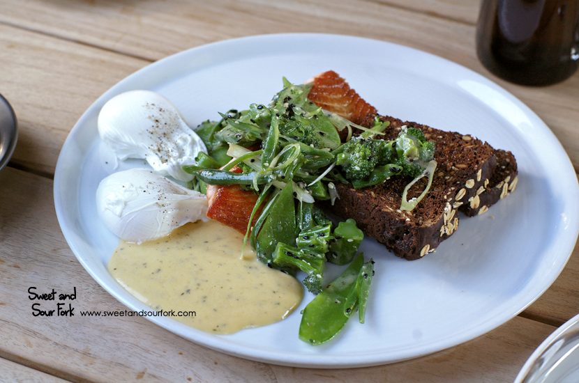 Salmon Breakfast ($23)