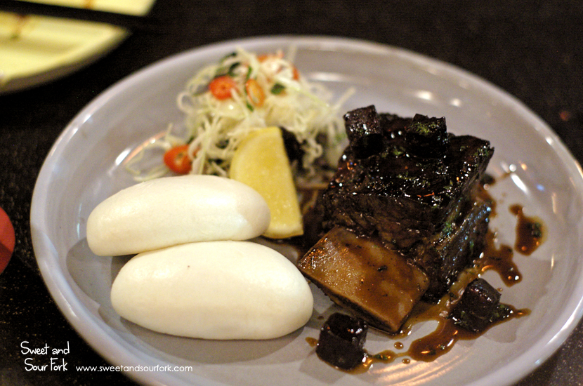 Braised Beef Short Rib Bao ($15, 2pcs)