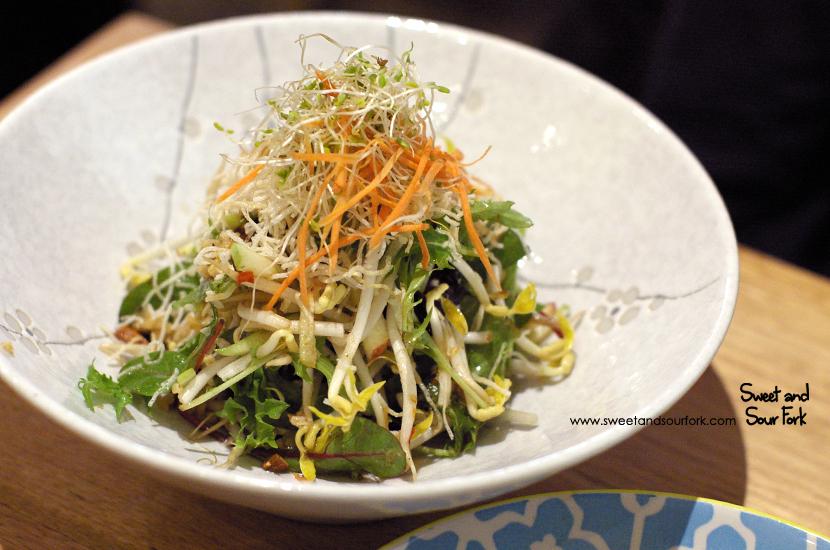 Sweet Crunchy Tamarind Salad ($9)