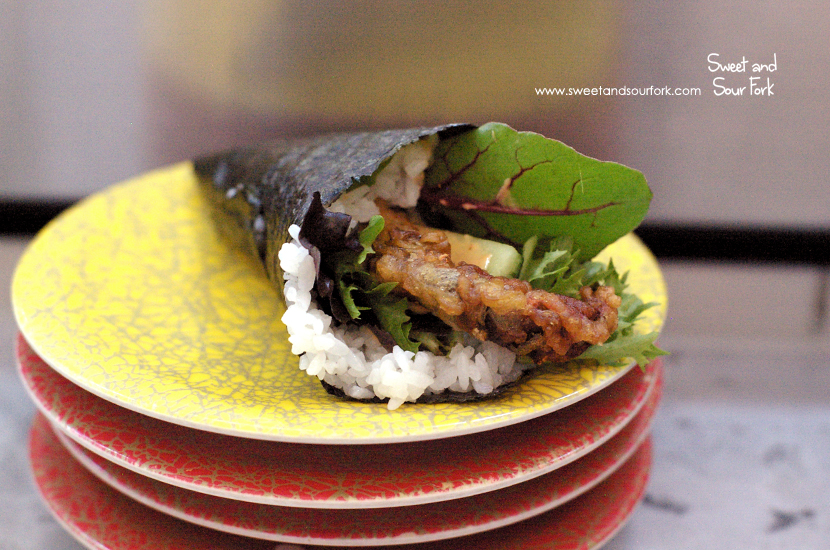 Soft Shell Crab Hand Roll ($3.8)