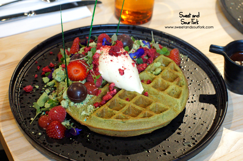 Matcha Waffle ($21)