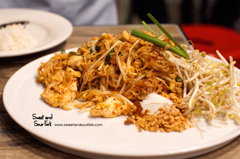 Pad Thai with Chicken ($14)