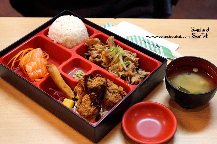 Pork Shogayaki Set ($14.8)
