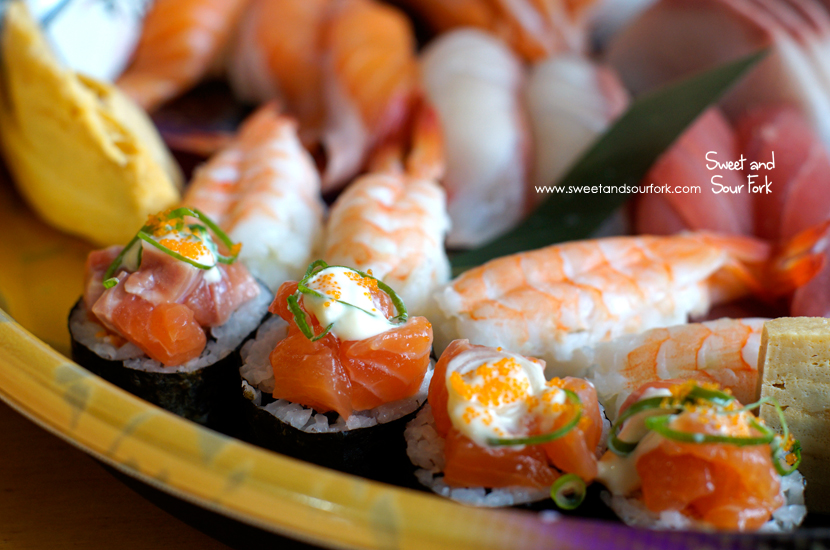 Sushi Sashimi  Large ($58)