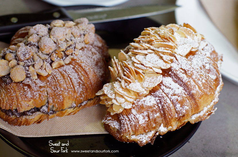 Almond Croissant ($8.5)