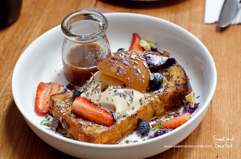 Brioche French Toast ($18.5)