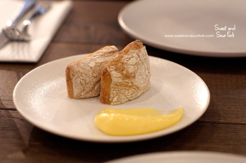 Spiced Ciabatta with Whipped Butter