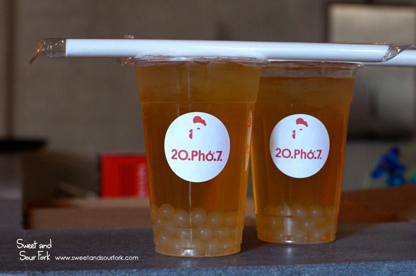 Lychee Bubble Tea ($5.5)