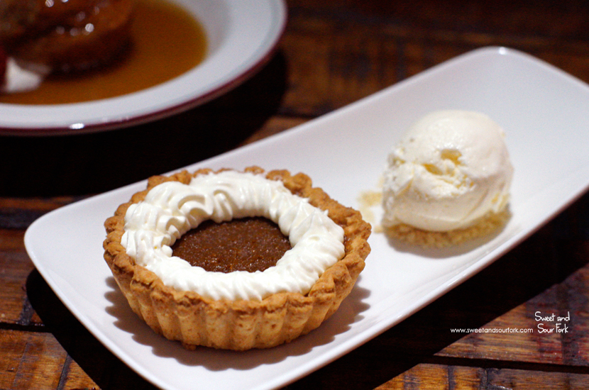 Pumpkin Pie ($15)