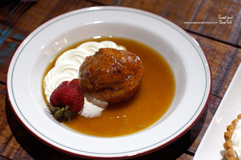 Sticky Date Pudding ($12)
