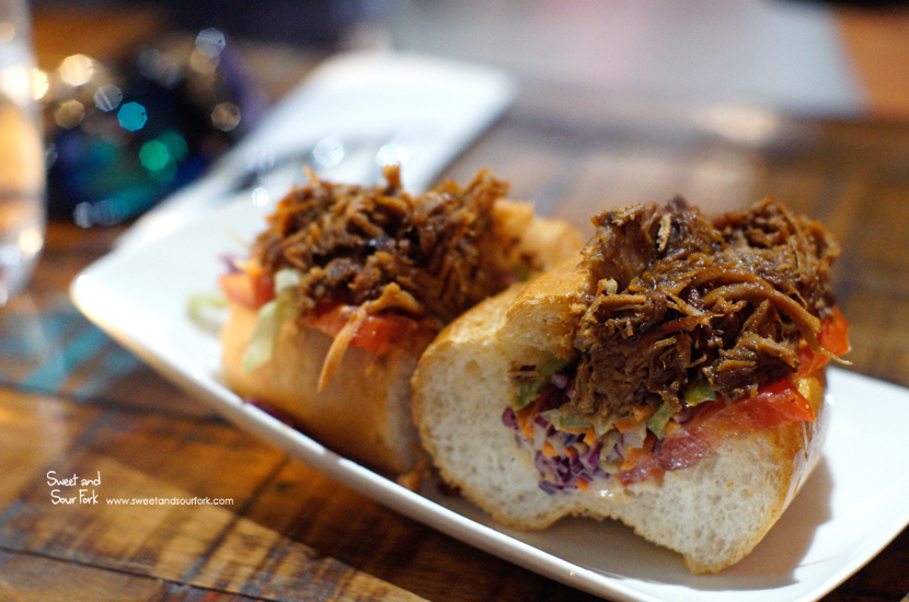 Pulled Pork Po'Boy ($14.9)