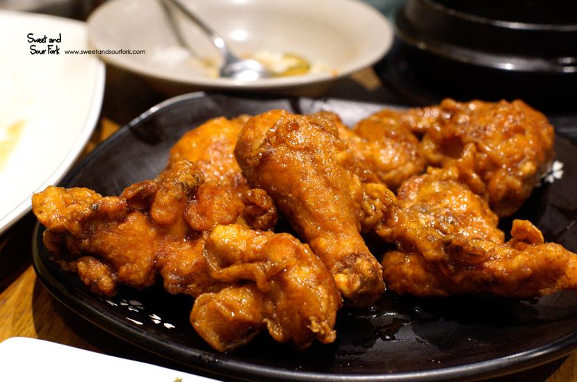 Garlic Soy Sauce Chicken ($18, half)