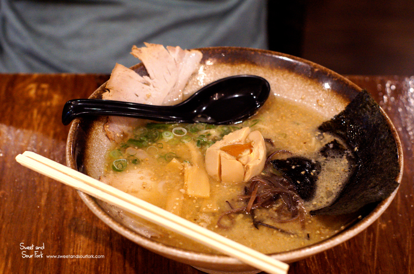 Pork Soup Shoyu Ramen ($12)