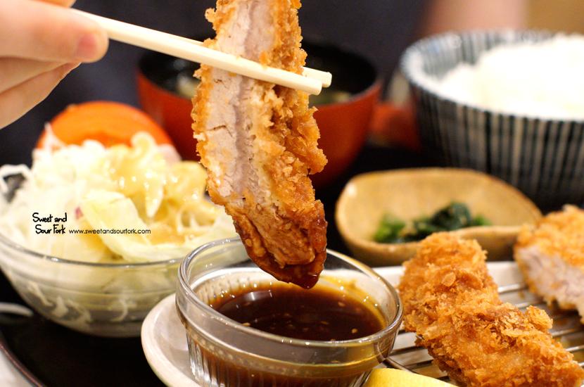 Tonkatsu Pork Loin Set ($17.8)