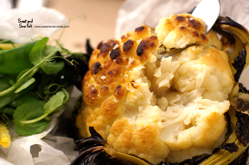 Baby Cauliflower ($13)