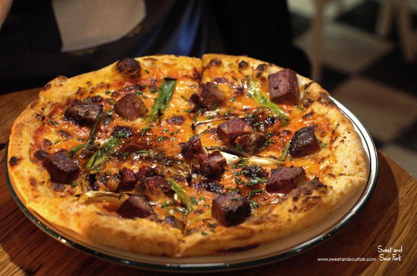 Pastrami and Marrow Pizza ($20)