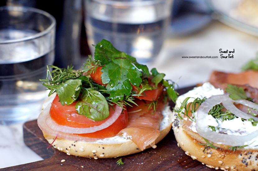 Toasted Bagel ($16.5)