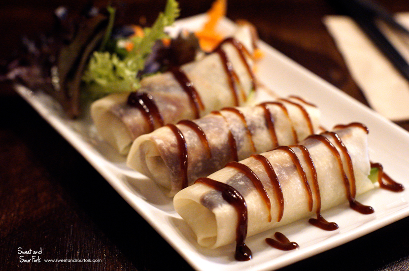 Peking Not Duck Rolls ($8.8, 3pcs)