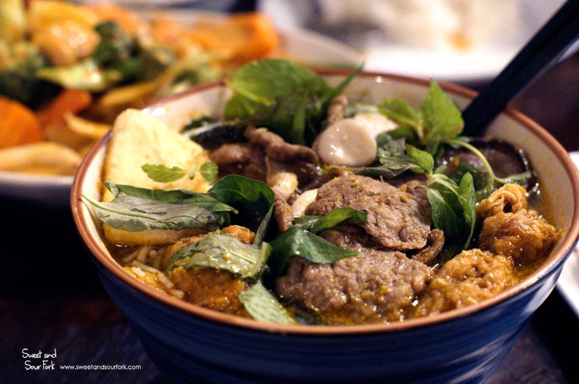 Hue's Style Noodle Soup ($12.8)