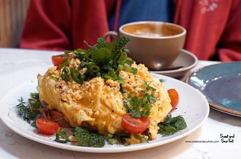 Eggs and Shanklish ($22)