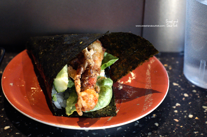 Soft Shell Crab Hand Roll