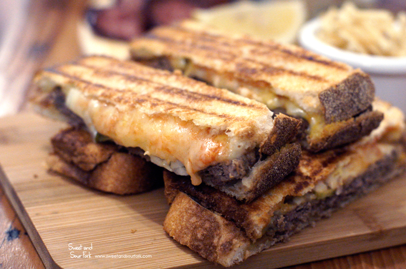 The Cheeseburger Toastie ($18)