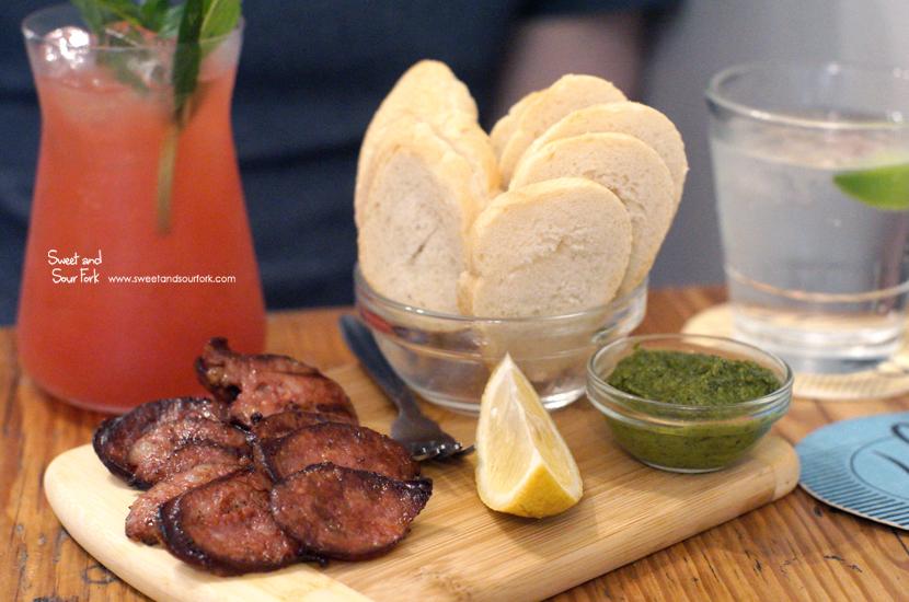 Grilled Csabai ($12)