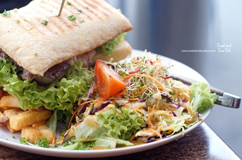 Open Steak Sandwich ($24.5)