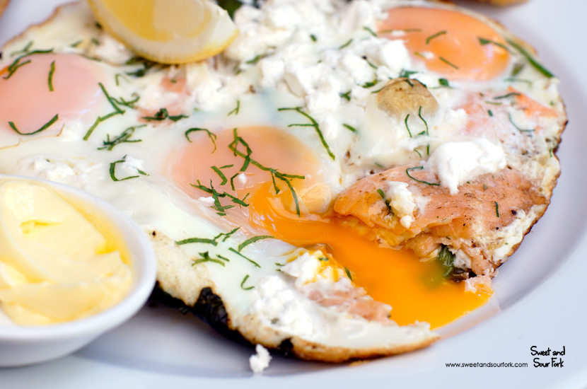 Petrel Oven Bake with Smoked Salmon ($21.5)
