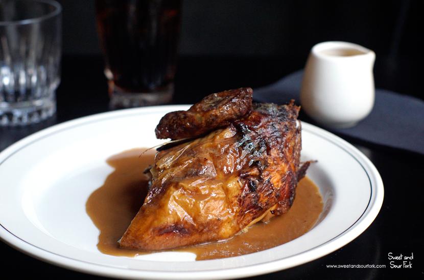 Rotisserie Free Range Chicken ($11, 1/4 chicken)