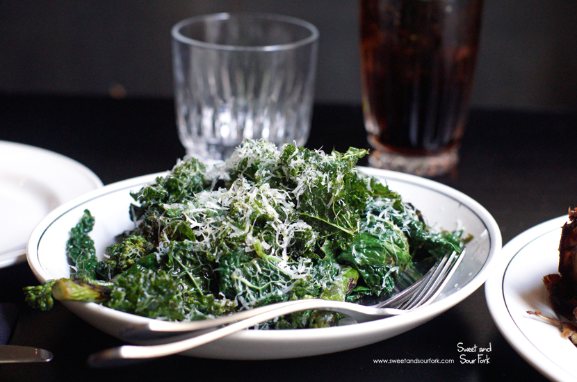 Chargrilled Greens ($11)