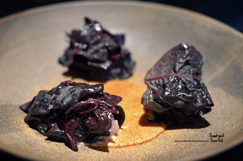 Hapuka, Purple Basil, Tomato and Red Orach