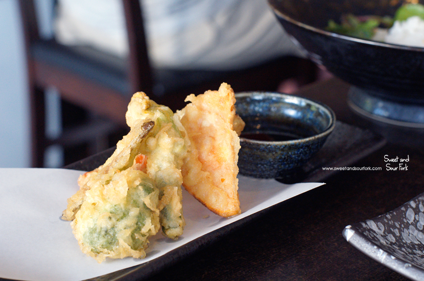Vegetable Tempura ($8.8, entrée)